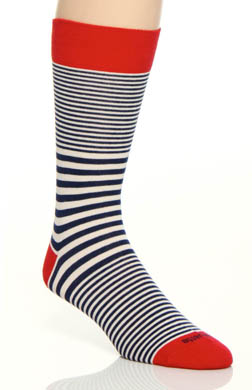 Etiquette Clothiers Sailor Stripe Sock