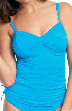 Fantasie Cairns Underwire Twist Front Tankini Swim Top