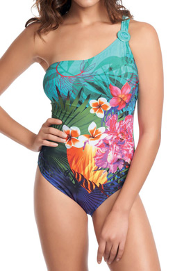 Fantasie Dominica Underwire Asymmetric Swimsuit