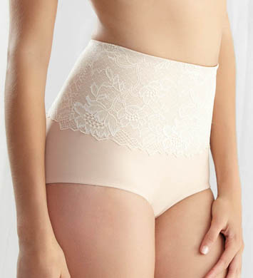 Felina Glam Control Hi Cut Brief Panty