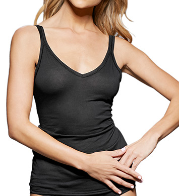 fine lines Pure Cotton Thin Strap V-Neck Camisole