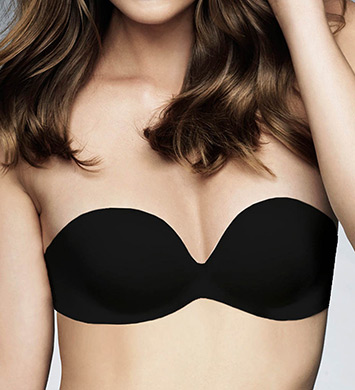 fine lines Memory Low Cut Strapless 4 Way Convertible Bra