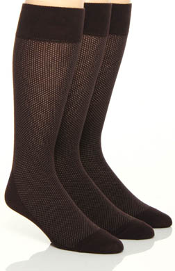 Florsheim Socks Fashion Basics Pin Dot Socks - 3 Pack
