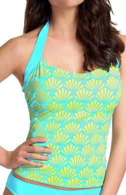 Freya Fame Underwire 50s Halter Tankini Swim Top