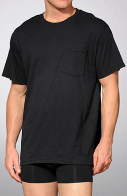 Fruit Of The Loom Big Man Pocket T-Shirts - 4 Pack