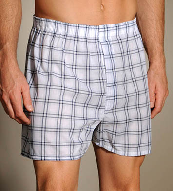 Fruit Of The Loom Patterned Woven Boxers - 3 Pack