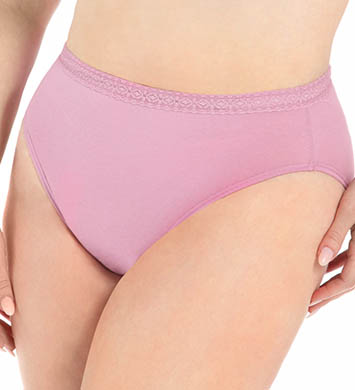 Fruit Of The Loom Ladies Hi Thigh Plus Size Panty - 5 Pack