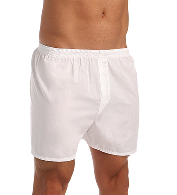 Fruit Of The Loom Big Man White Woven Boxers - 5 Pack