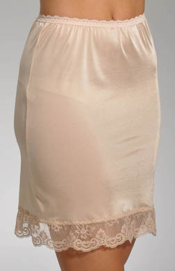Grenier 18 Half Slip With Lace Trim