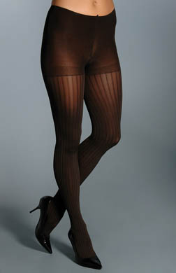 Hanes Silk Reflections Ribbed Control Top Tights