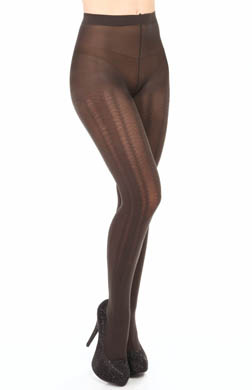 Hanes Value Tights Braided Cable Texture