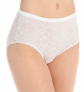Hanes 100% Cotton Brief Panty - 4 Pack