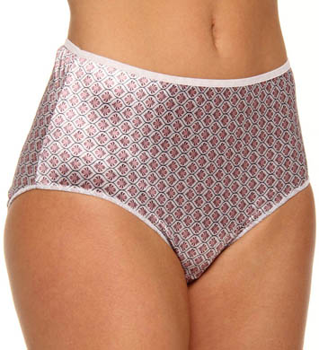 Hanes Body Creations Satin Stretch Brief Panty - 3 Pack