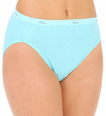 Hanes Cotton Hi Cut Panties - 3 Pack