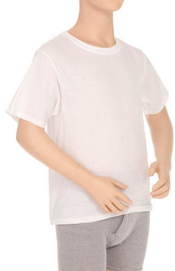 Hanes Boys Crew Neck T-Shirt - 4 Pack