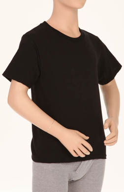 Hanes Boys Dyed Crew Neck T-Shirts - 3 Pack