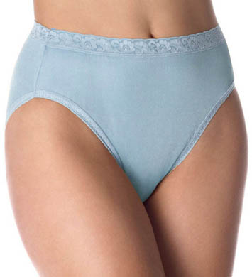 Hanes Nylon Hi Cut Panties - 5 Pack