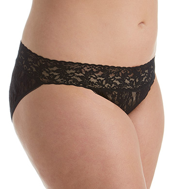 Hanky Panky Signature Lace Plus Size V-Kini Panty