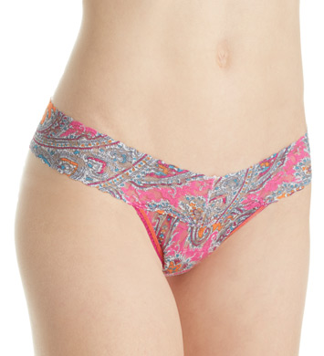 Hanky Panky Low Rise Pattern Thongs