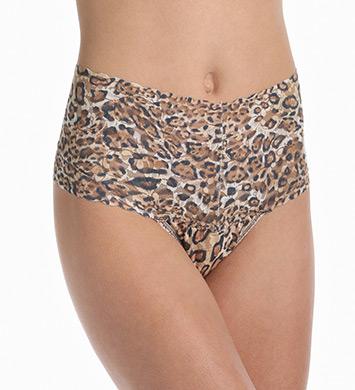 Hanky Panky Leopard Nouveau Retro Thong