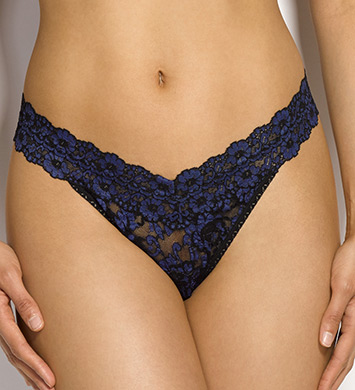 Hanky Panky Cross Dyed Signature Lace Original Rise Thong