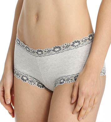 Hanky Panky Heather Lace Trim Boyshort Panty
