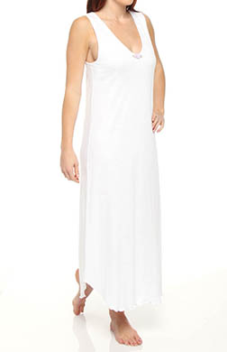 Hanky Panky Interlock Long Gown with Contrast Stitch