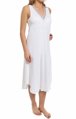 Hanky Panky Supima Cotton Interlock Sleeveless Gown