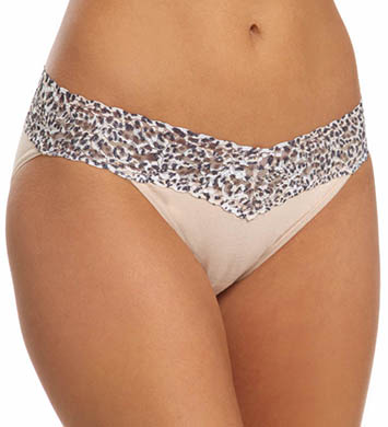 Hanky Panky Jaguar Cotton with a Conscience V-kini Panty