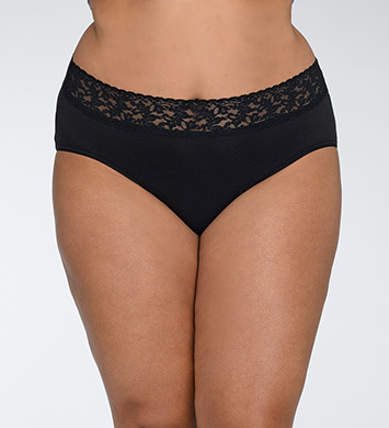 Hanky Panky Cotton With A Conscience Plus Size Brief Panty