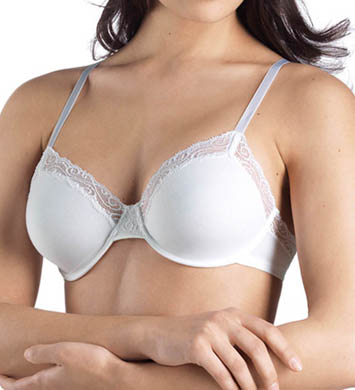 Hanro Cotton Superior Lace Underwire Bra