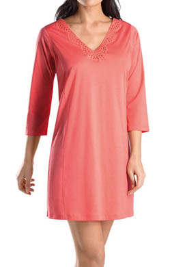 Hanro Gwen 3/4 Sleeve Gown
