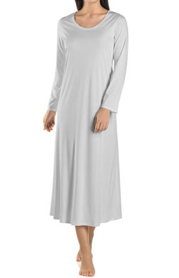 Hanro Tonight Long Sleeve Gown
