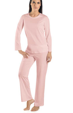Hanro Tonight Long Sleeve Pajama Set
