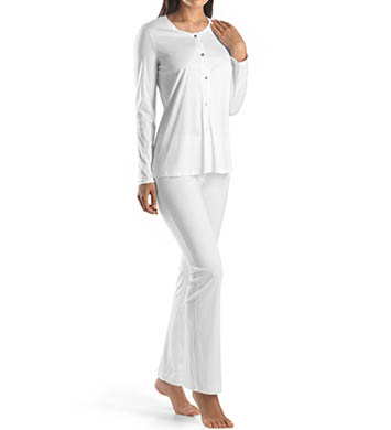 Hanro Tonight Button Front Pajama Set