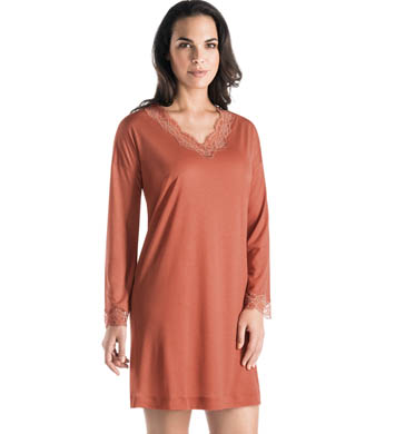 Hanro Uptown Long Sleeve Gown