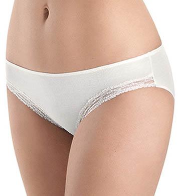Hanro Liz Lace Trim Hi-Cut Bikini Panty