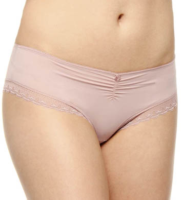 Hanro Fleur Lace Trim Full Brief Panty
