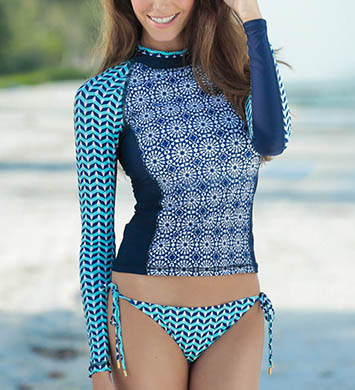 Helen Jon Monaco Rash Guard