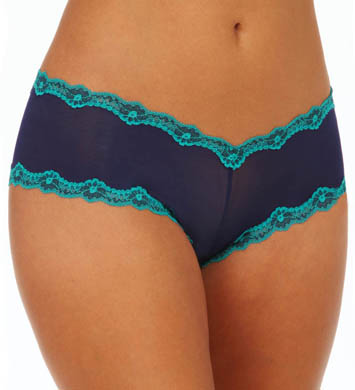 honeydew Lace-Up Mesh Boyshort Panty