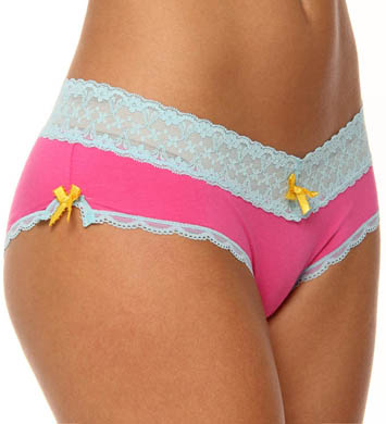 honeydew Cutie Rayon And Lace Hipster Panty