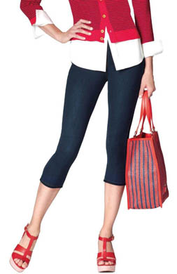 Hue The Original Jeans Capri Legging