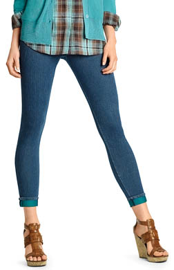 Hue The Cuffed Original Jeans Skimmer Legging