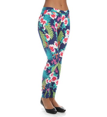 Hue The Hibiscus Jeans Leggings