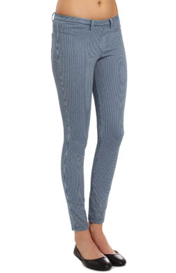 Hue The Pinstripe Jeans Leggings