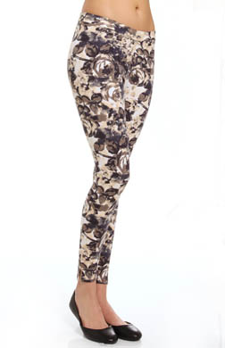 Hue Blooming Sleek Ponte Skimmer Leggings