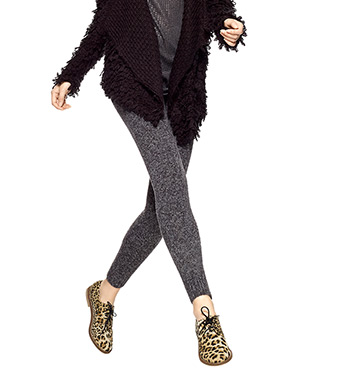 Hue Tweed Sweater Leggings