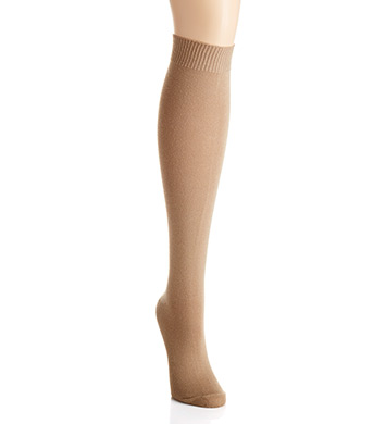 Hue Flat Knit Knee Sock