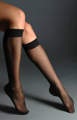 Hue Sheer Knee High - 2 Pair Pack
