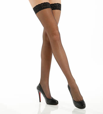 Hue French Lace Thigh-Hi